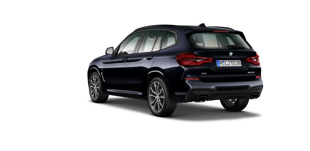 Bmw X3 Xdrive30d At 249 лс M Sport черный в москве 4195136
