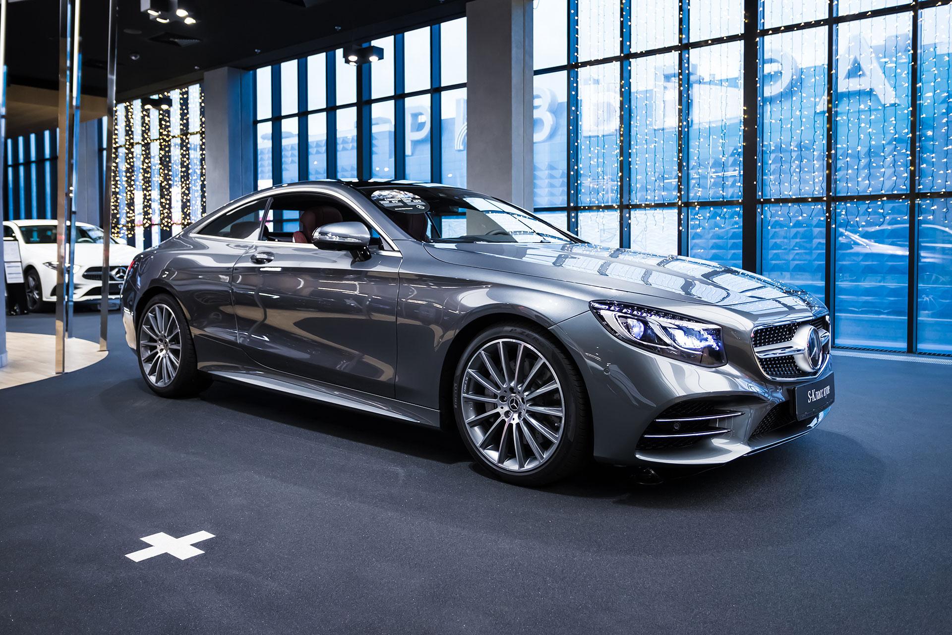 Экстерьр Mercedes-Benz S-Класс